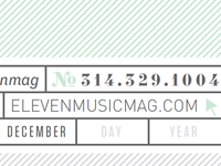 Eleven Mag Letterhead