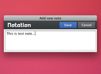 Notation - Mac app for fast notes