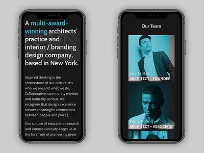 Kumitrix - Mobile layouts 2 branding ui mobile design mobile layout mobile responsive design responsive landing page website web design design architecture case study