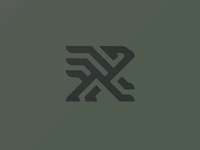 Griffin gryphon griffon thick lines branding logo griffin