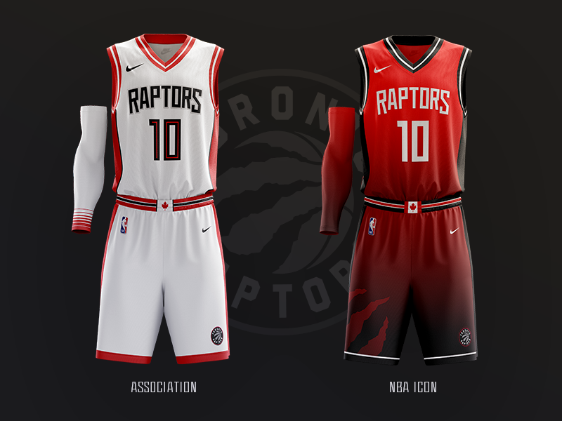 quality design c0401 a945d Toronto Raptors // Jerseys 1 & 2 by Jonny Gibson on Dribbble