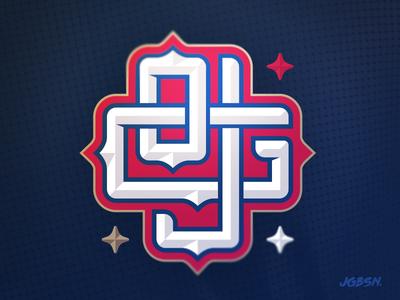 OJ Grfx — Branding nfl baseball nba team monogram lettering type typography identity branding logo sports
