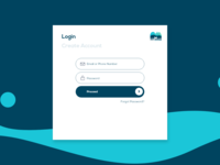 Daily UI - Login Page
