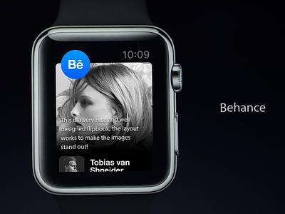 Behance Apple Watch layout interaction uiux apple
