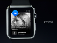 Behance Apple Watch