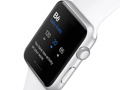 Behance for Apple Watch  apple apple watch ios ui ux behance