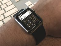 Casio watchface