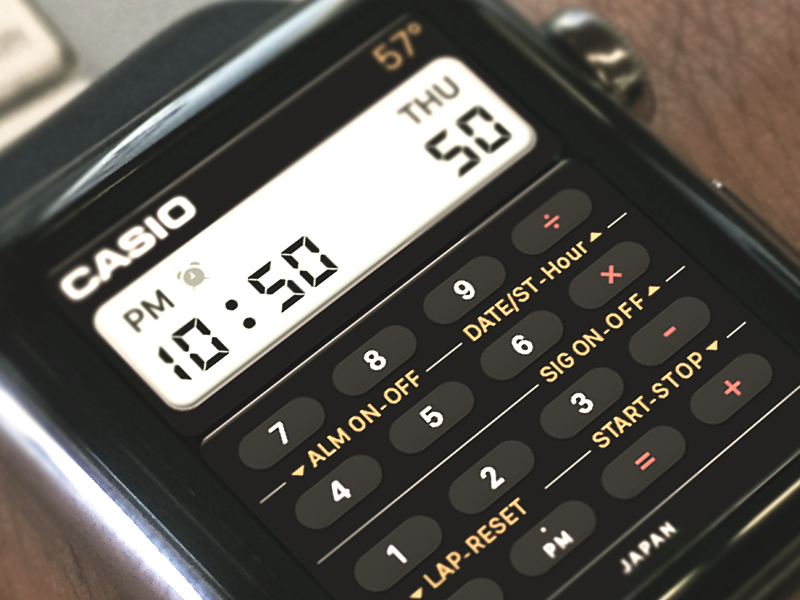Smart Calculator Watch  ux ui ios apple watch apple