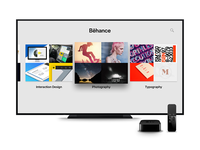Behance for Apple TV