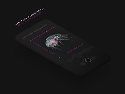 Sci-Fi Dark UI
