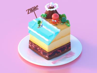 Zelda Cake - Yum~Yum