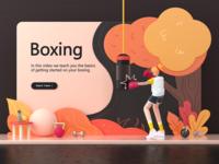 Landing page - Boxing