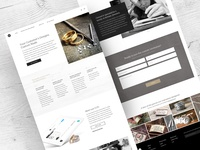 Metal Pressions Landing Page