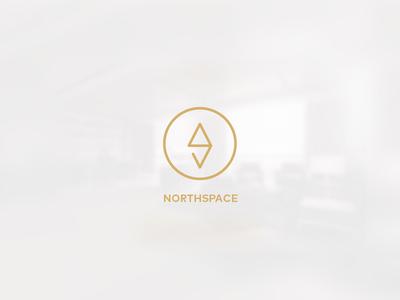 northspace co-working space logo branding logo identity logotype toronto space cowork