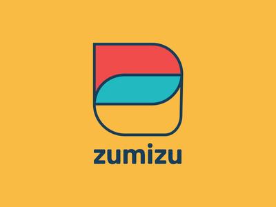 Zumizu social media letter z design logo branding