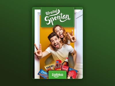 Żabka campaign KV project