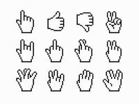 Pixel Gestures