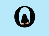 Letter O typography