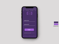 login App Screens UI