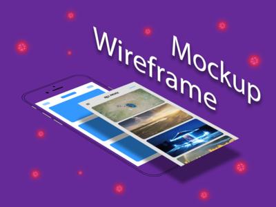 Wireframe to mockup #3