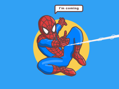 Spiderman is coming