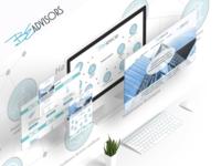 Landing page for BeAdvisors