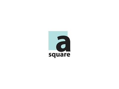 A Square Logo Design Conept letter icon logo design concept logo design a square art typography vector branding brand and identity black design logo flat