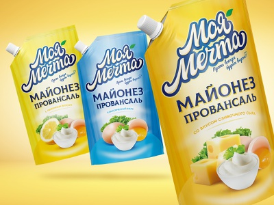mayonnaise My dream packagedesign package mayonnaise