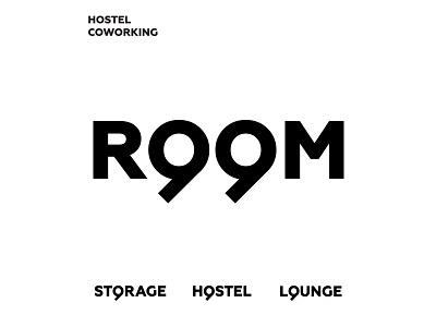 Room99 navigation logo coworking hostel