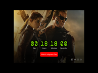 Daily UI Design Challenge #014 - Countdown Timer