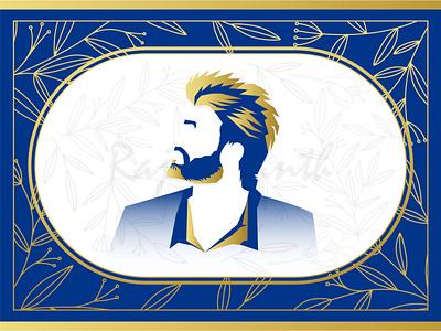 Rajinikanth ui rajinikanth character branding colors logo illustraion colorful design illustration