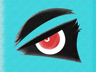 Lord Shiva red design black logo illustraion evil eye shiva lord