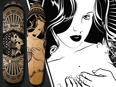 Laser etched Decks