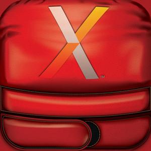 Nexersys Icon ios icon app austin fitness nexersys vector illustrator photorealistic boxing mma