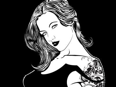 Wedding Flasks illustration ai black and white