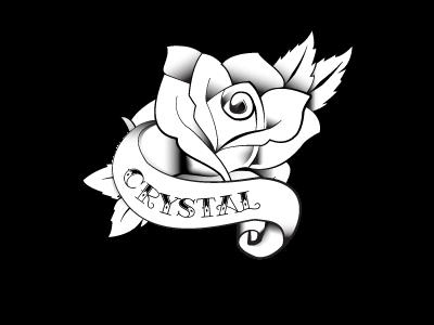 Rose Wedding wedding flasks tattoo graphic design laser etching black and white illustration