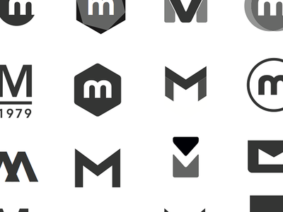 M Logo Concepts By Kevin Lofthouse