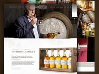 Balvenie website concept