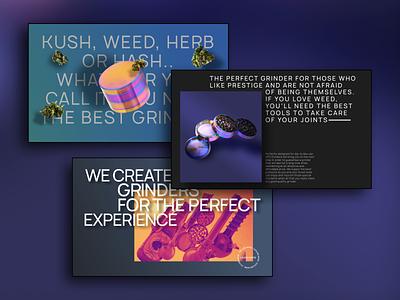 The GFO Experience - Interactive Website #4 mockups gradient graphic design lettering flat website minimal web typography branding design
