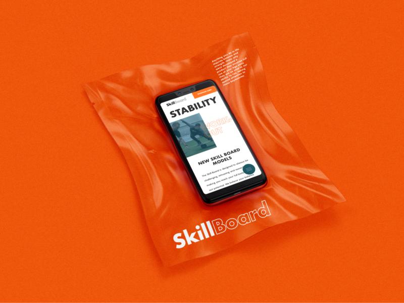 SkillBoard - Mobile Mockup