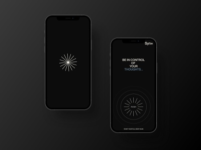 Syno - App vector awwwards gradient mockups app branding typography minimal lettering graphic design design