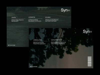 Syno - Pitch deck web illustration typography minimal lettering graphic design pitch deck mockups website branding design