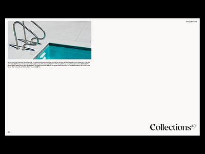 Poolfolio® - Layout Exploration design print design print website mockups illustration branding typography minimal graphic design lettering layout pools