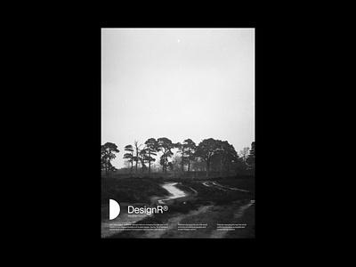DesignR® - Landscape Layout illustration web website mockups design branding typography minimal graphic design lettering