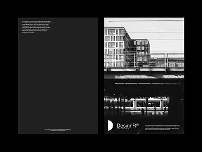 DesignR® - Layout Exploration logo web website mockups design branding typography minimal graphic design lettering