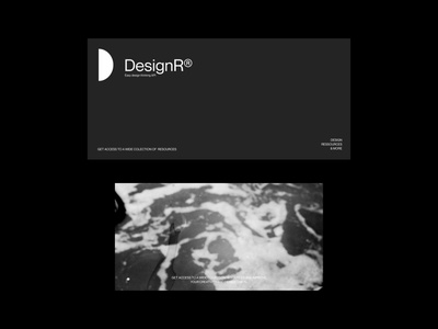 DesignR® - Postal Card illustration logo website mockups design typography minimal graphic design lettering branding