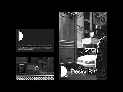 DesignR® - Pamphlet Layout website mockups design branding typography minimal graphic design lettering