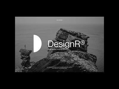 DesignR® - Pitch Deck illustration logo website mockups design branding typography minimal graphic design lettering