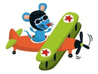 Mouse Plane