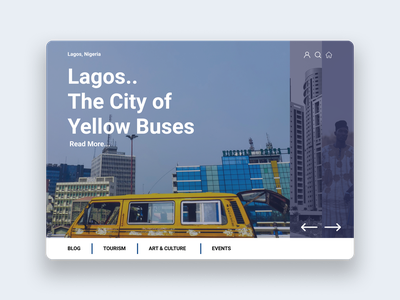 The Sweet City of Lagos. design process web minimal branding ux ui illustration design